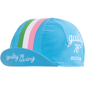 guilty 76 racing Velo Club Race Casquette, blue
